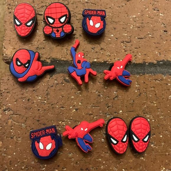 Spiderman Croc Jibbitz